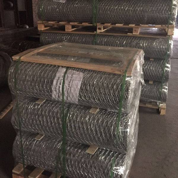 Galvanized Weaving Hexagonal Wire Netting for Bumper Cars 16 Gauge 1 Inch