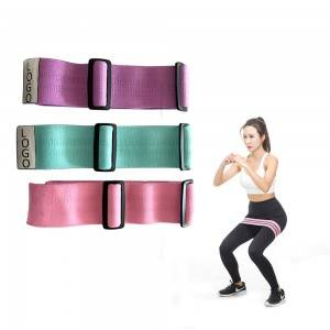 Adjustable resistance band