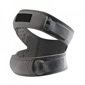 Dual strap patella belt