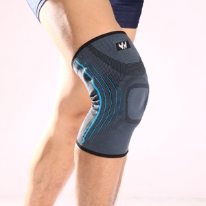 Silicone knee support