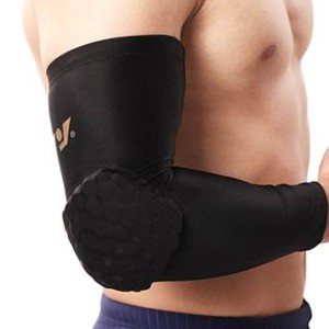 Basketball protective lycra arm sleeve with honeycomb pad