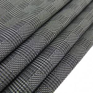 Lowest Price for Purple Fancy Suit Fabric - 59T 34N 7SP knitted fancy suit checked fabric – Yun Ai