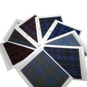 New Delivery for Hotel Staff Uniform Fabric - Checked school uniform skirt fabric for girls – Yun Ai