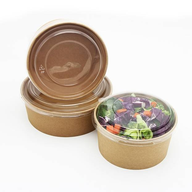 Salad bowl with lid