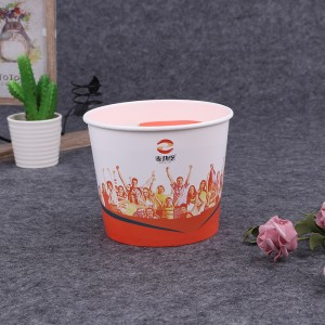 Professional China 150oz Chicken Paper Bucket - paper bucket – JAHOO