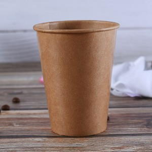 China OEM Take Out Food Bowl - Kraft paper cup – JAHOO