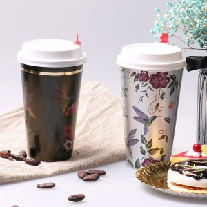 Manufacturing Companies for Coffee Cup - Printing hot stamping paper cup – JAHOO