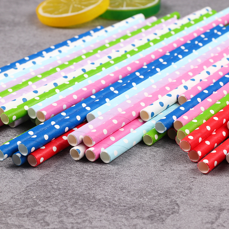 bulk white disposable wholesale drinking biodegradable paper straw