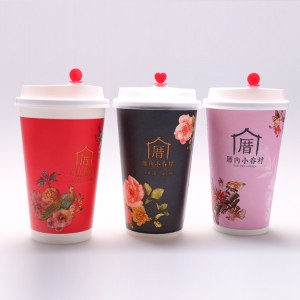 Factory Price Kraft Paper Meal Box - Single layer paper cold cup – JAHOO