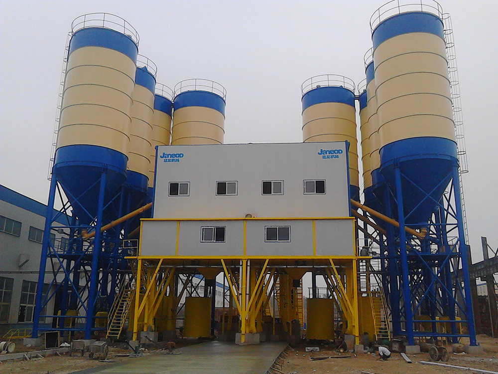 Cheap price Concrete Batching Concrete Mixing Plant - M series SjHZS120M specifications – Janeoo