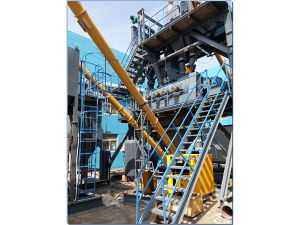 SjGZD060-3G Station Type Dry Motar batching plant