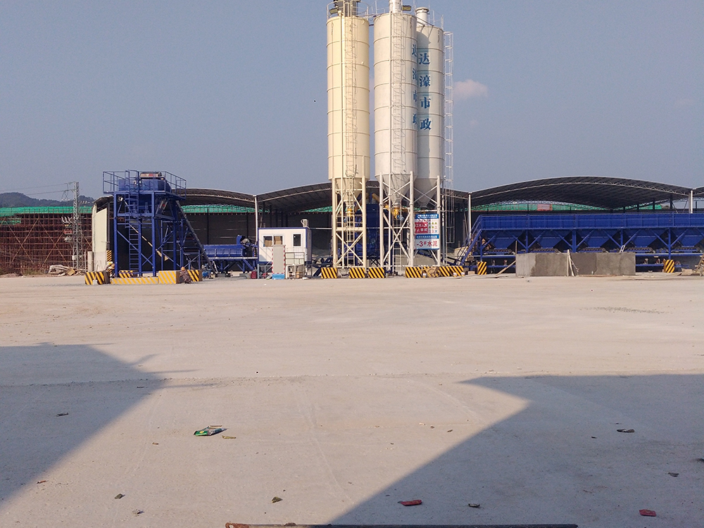 Well-designed Commercial Concrete Mixing Plant - Road base Material Mixing Plant – Janeoo Featured Image