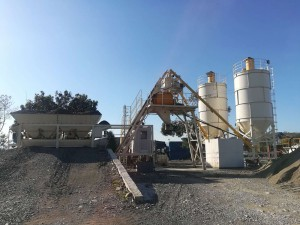 New Fashion Design for Brazil Concrete Batching Plant - Lifting bucket mobile station – Janeoo