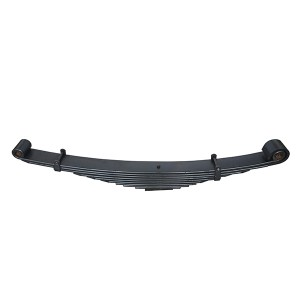 Discount Price Types Of Leaf Spring Suspension - OEM 43-698 truck part front leaf spring with bushings – Jiachuang
