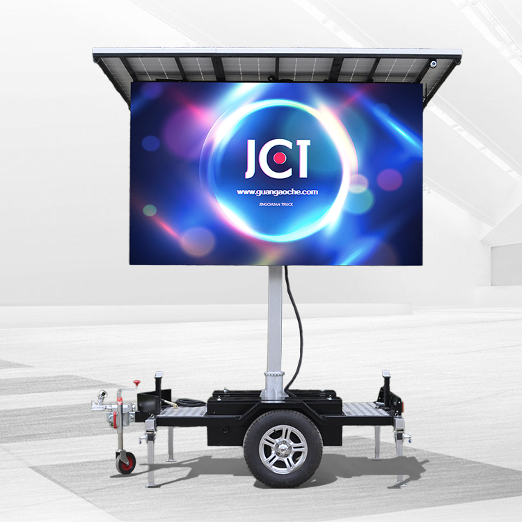 2018 High quality Solar Power Trailer - 4㎡ SOLAR MOBILE LED TRAILER – JCT