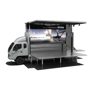 Wholesale Price Buy Mobile Stage Truck - JCT 6.2m led stage truck- Foton Aumark – JCT