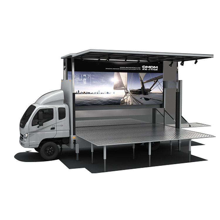 New Arrival China Mobile Stage Truck Hire - JCT 6.2m led stage truck- Foton Aumark – JCT Featured Image
