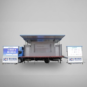 China wholesale Mobile Stage Car - JCT 7.6M LED STAGE TRUCK-Foton Ollin – JCT