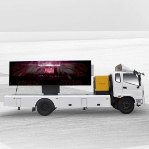 Reasonable price Outdoor Led Truck - 22㎡ MOBILE BILLBOARD TRUCK-FONTON OLLIN – JCT