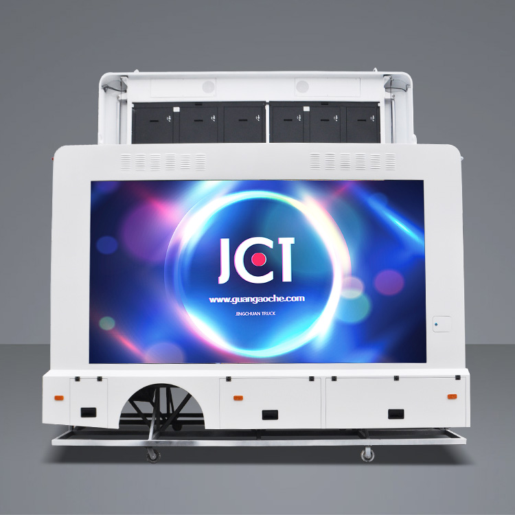 High Quality Advertising Vehicle - 15ft led container-without chassis – JCT
