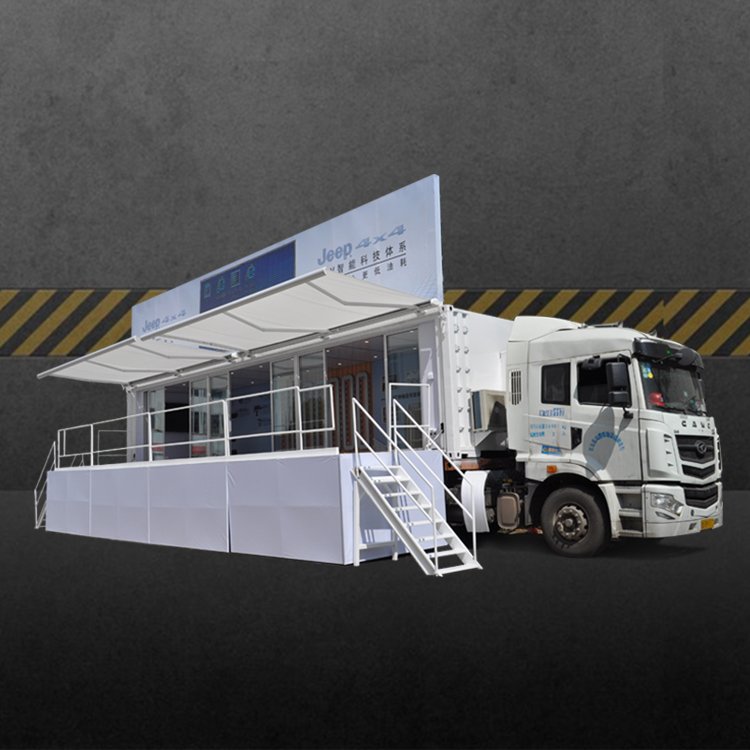 Best quality Mobile Billboard Car – 40ft LED Container-CIMC – JCT