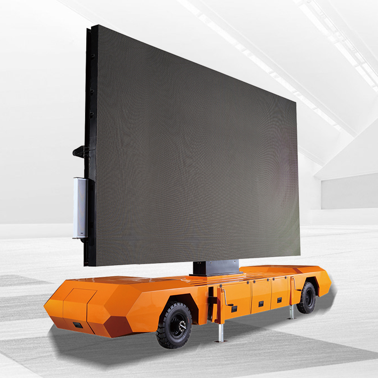 2018 High quality Led Advertising Trailer - 22㎡ Mobile Led Trailer – JCT