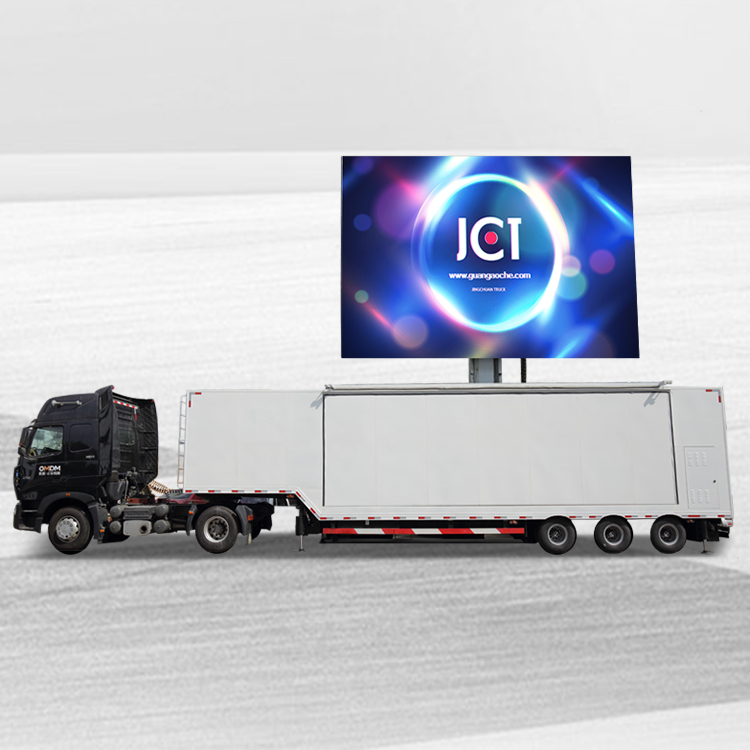 Manufacturer for Mobile Advertising Vehicles - 40ft LED CONTAINER-FOTON AUMAN – JCT
