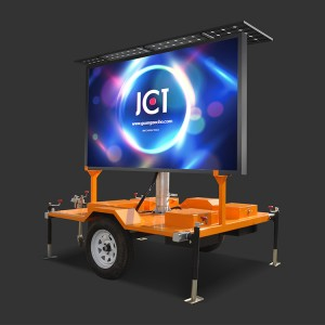 Good Quality Vms Traffic Trailer - VMS traffic trailer- full color – JCT