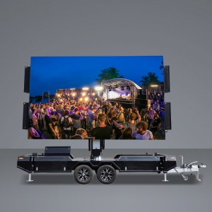 Cheap price Outdoor Led Display Trailer - 16㎡ Mobile Led  Trailer – JCT