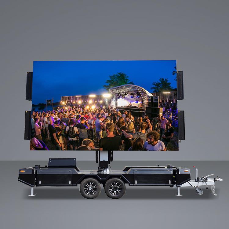 OEM/ODM China Led Screen Trailer - 16㎡ Mobile Led  Trailer – JCT