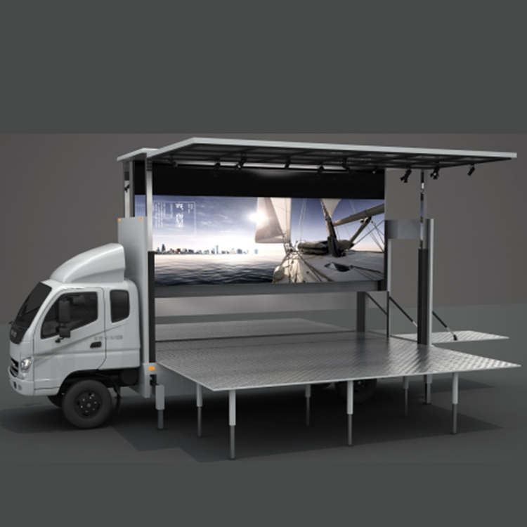 New Arrival China Mobile Stage Truck Hire - JCT 6.2m led stage truck- Foton Aumark – JCT