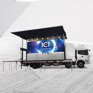 Hot New Products Truck Trailers Stage With Billboard - JCT 9.6M LED STAGE TRUCK-Foton Aumark – JCT