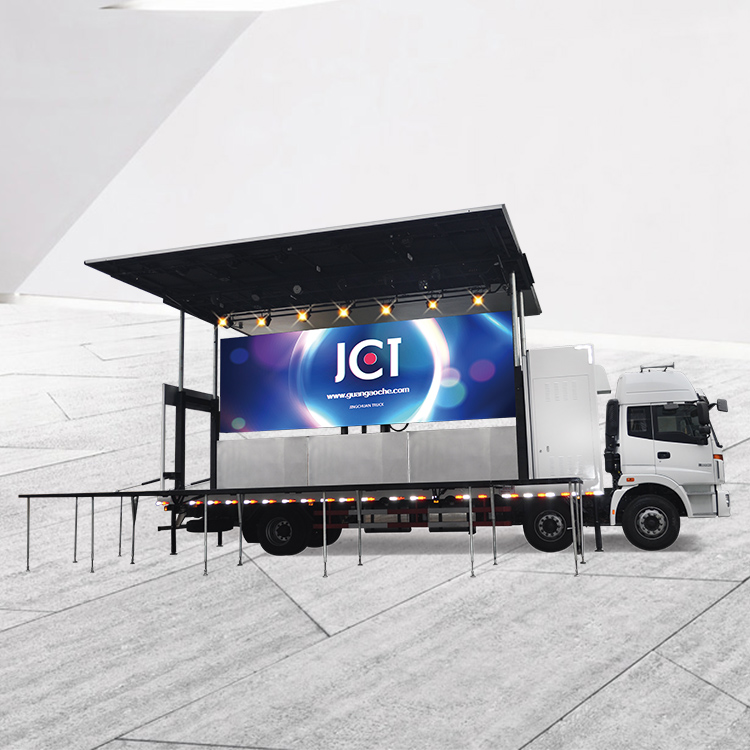 Wholesale Price Buy Mobile Stage Truck - JCT 9.6M LED STAGE TRUCK-Foton Aumark – JCT
