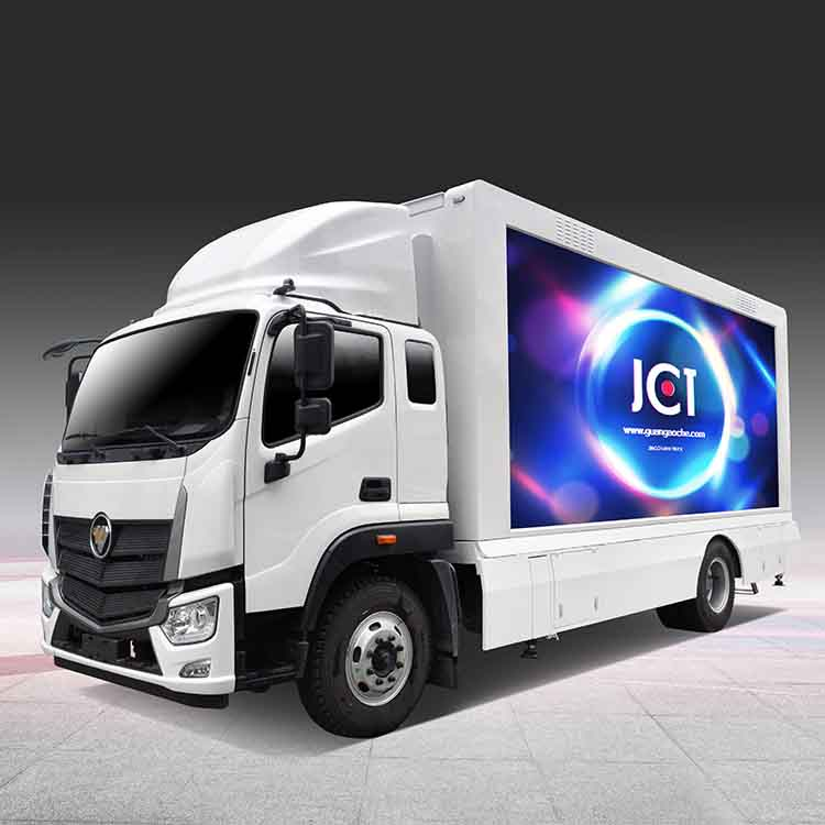 Factory wholesale Mobile Led Billboard Truck - 8M MOBILE LED TRUCK – JCT detail pictures