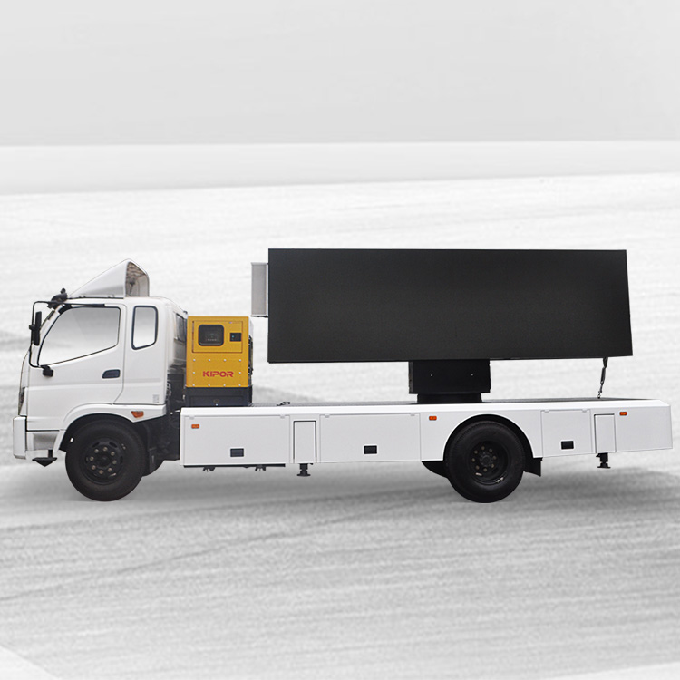 Reasonable price Outdoor Led Truck - 22㎡ MOBILE BILLBOARD TRUCK-FONTON OLLIN – JCT detail pictures