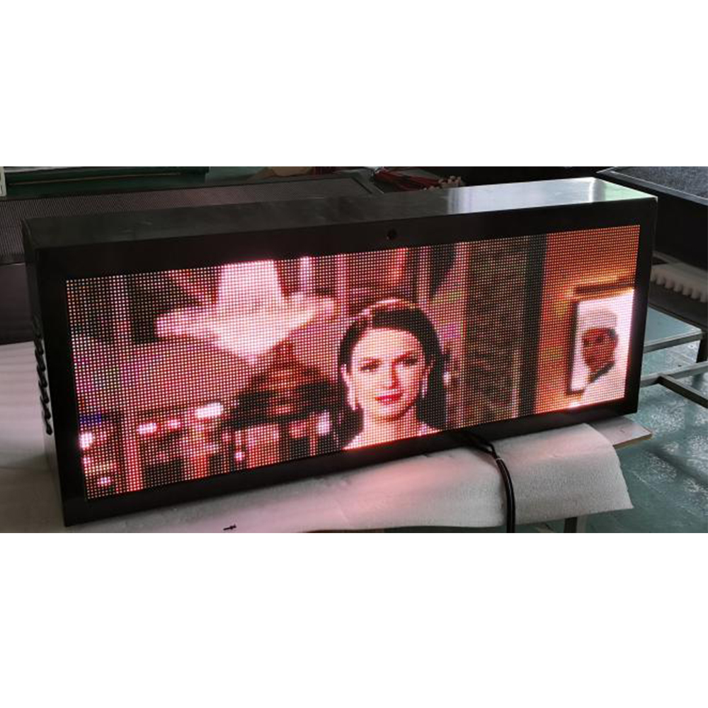 New Arrival China Rear Window Message Display - Taxi Topper LED Display Price List – JCT