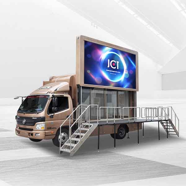 OEM/ODM Manufacturer Digital Billboard Truck - 6m Mobile Exhibition Truck-foton Aumark – JCT