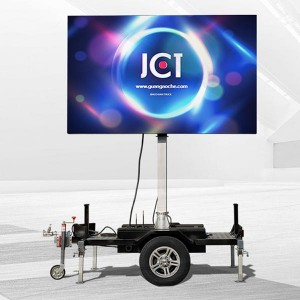 High definition Mobile Led Billboard Trailer - 4㎡ MOBILE LED TRAILER – JCT