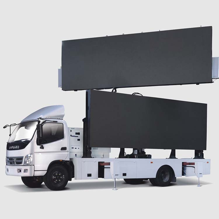 China OEM Mobile Billboard Business - 22㎡ LED BILLBOARD TRUCK – ISUZU – JCT