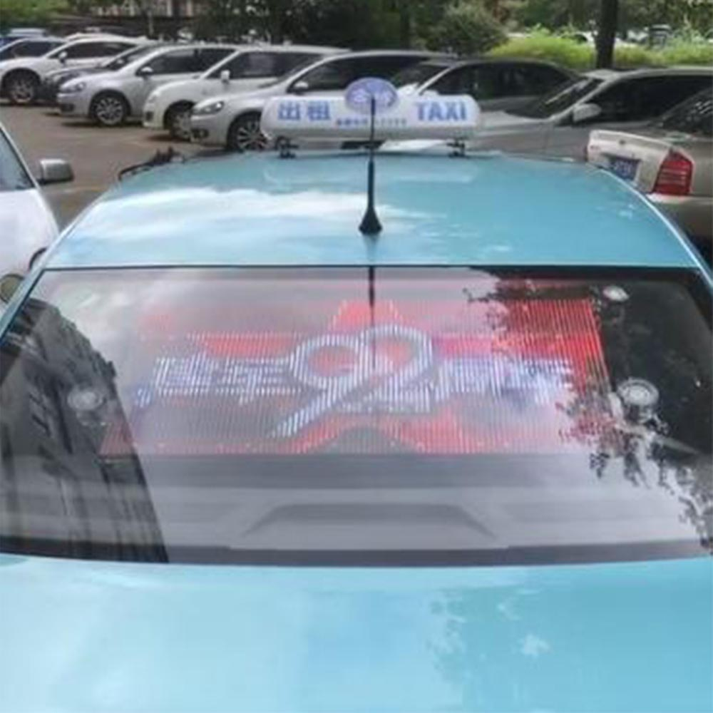 Factory Cheap Hot Led Screen Car Advertising - Taxi rear window display quotation – JCT