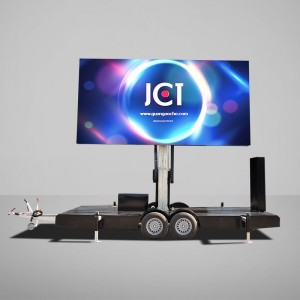 OEM Supply Trailer Led - 12㎡ Mobile Led Trailer – JCT