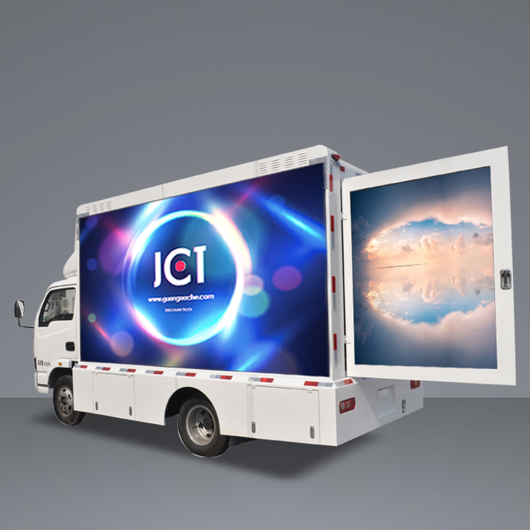 New Fashion Design for Truck Billboard Advertising - 6m LED MOBILE TRUCK-Nanjing YueJin – JCT