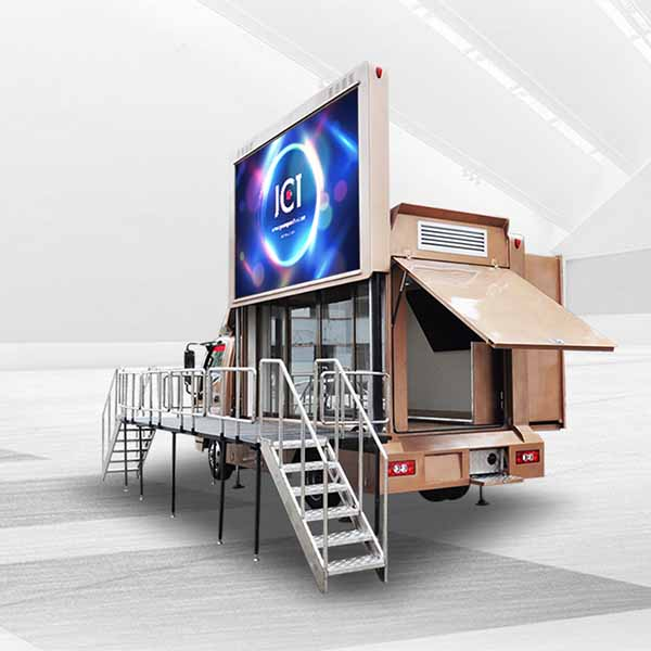 2018 China New Design Led Screen Truck - 6m Mobile Exhibition Truck-foton Aumark – JCT