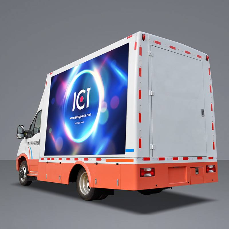 New Fashion Design for Truck Billboard Advertising - 6M MOBILE LED TRUCK-IVECO – JCT