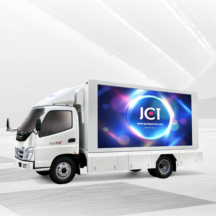 Best Price for Led Screen Vehicle - 6M MOBILE LED TRUCK—Foton Ollin – JCT