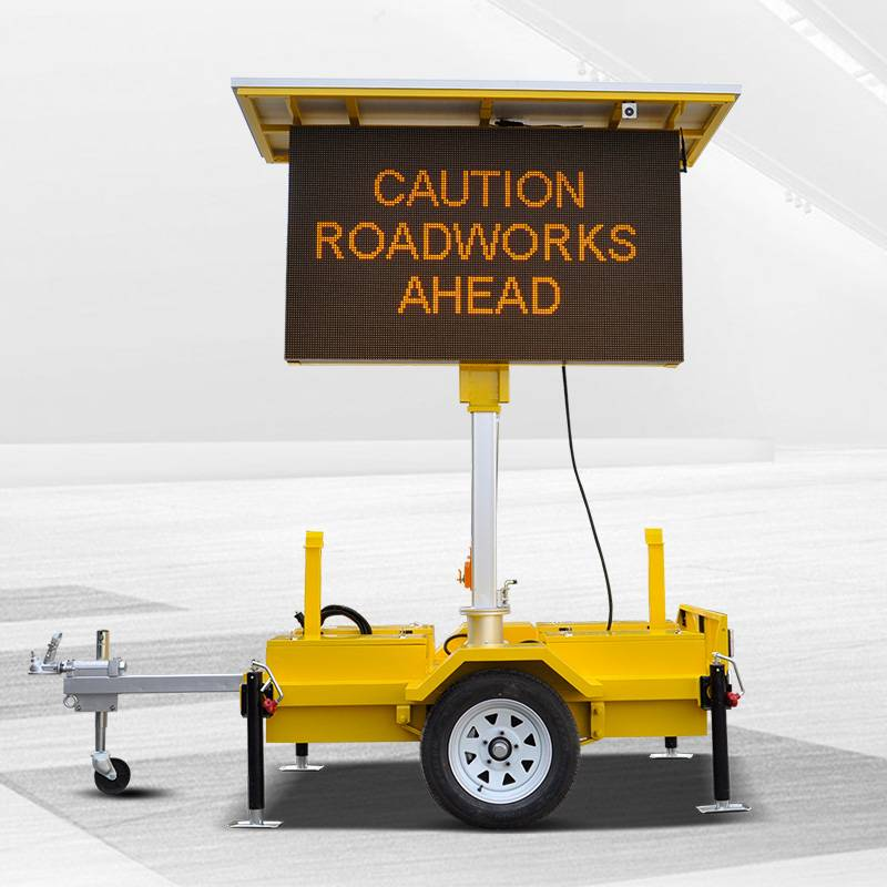 China wholesale Led Traffic Warning Sign - VMS solar led trailer – JCT