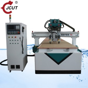 Wholesale 1325 Atc Cnc Router Manufacturers –  Two spindle row drilling machine cnc router – JCUT