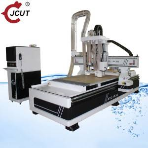 Wood Router Atc Manufacturers –  Linear atc wood cnc router machine with  Saw blade R30 – JCUT