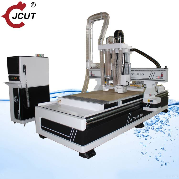 Wholesale 1325 Atc Cnc Router Manufacturers –  Linear atc wood cnc router machine with  Saw blade R30 – JCUT