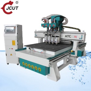 Manufacturing Companies for Atc In Cnc Machine - Four spindle atc cnc router – JCUT